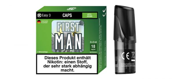 Easy 3 First Man Apfel Liquidcaps 2er Pack