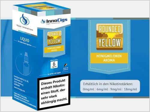 InnoCigs Rounded Yellow Honigmelonen eLiquid