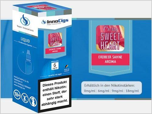 InnoCigs Pretty Sweetheart Erdbeer Sahne eLiquid
