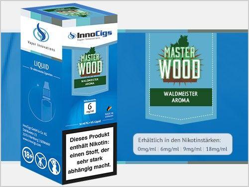 InnoCigs Master Wood Waldmeister eLiquid