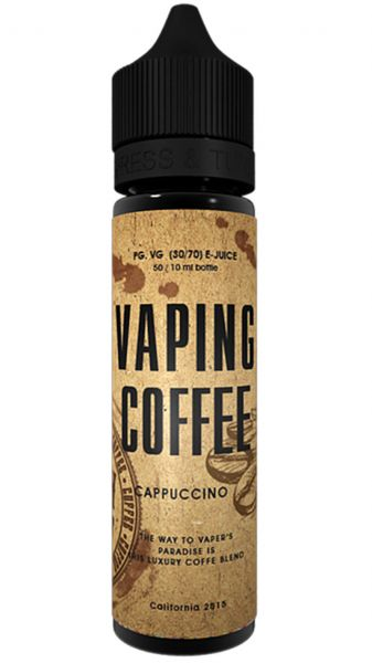 VAPING COFFEE Cappuccino Liquid