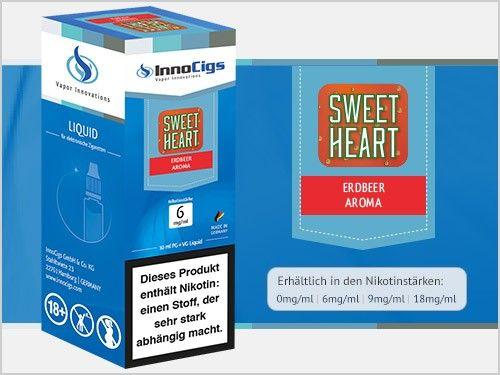 InnoCigs Sweetheart Erdbeer eLiquid