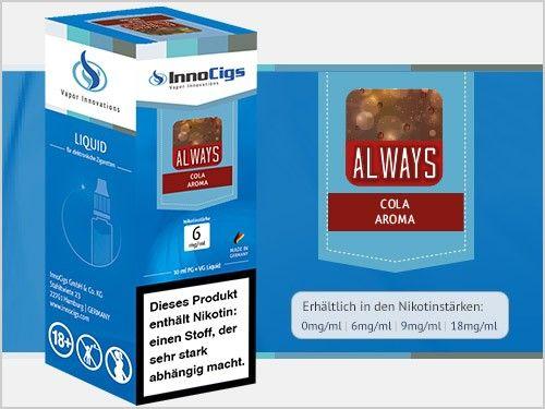 Innocigs Always Cola eLiquid