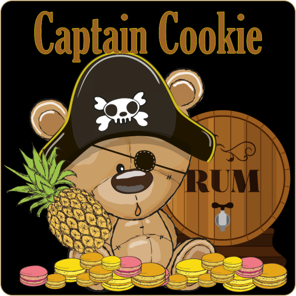 Dark Burner Captain Cookie Aroma