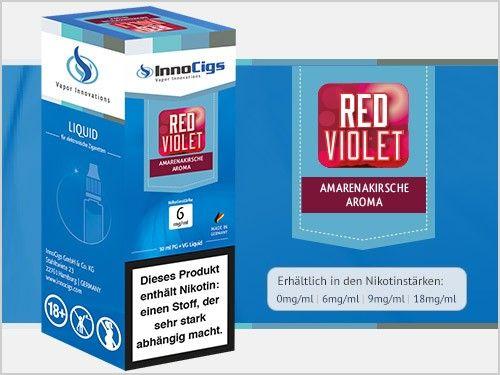InnoCigs Red Violet Amarenakirsche eLiquid