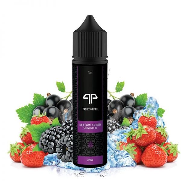 Professor Puff Blackcurrant Blackberry Strawberry Ice Aroma