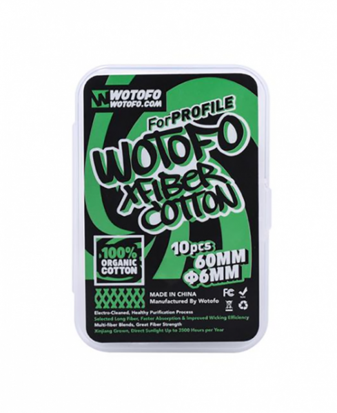 Wotofo Xfiber Cotton