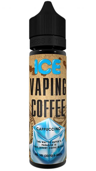 VAPING COFFEE Ice Cappuccino Liquid 50ml