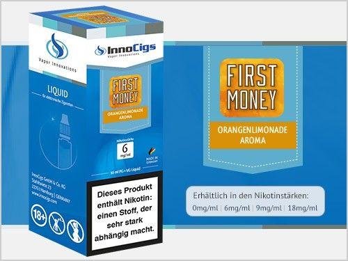 InnoCigs First Money Orangenlimonade eLiquid