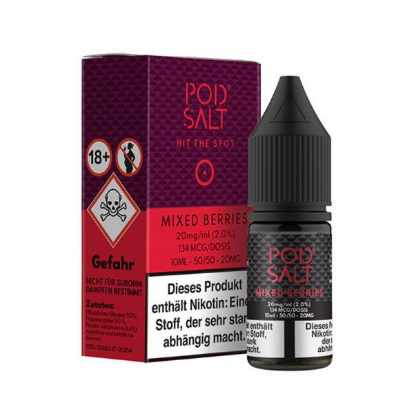 Pod Salt Mixed Berries 20mg Nikotinsalz Liquid