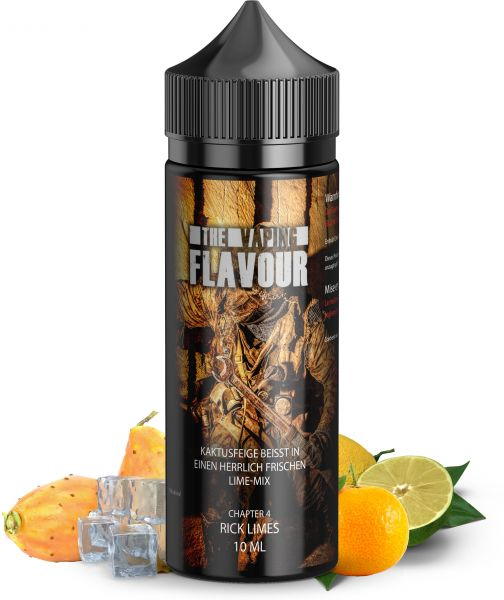 The Vaping Flavour Ch.4 Rick Limes Aroma