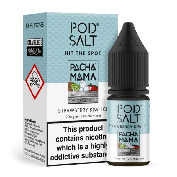 Pod Salt Fusions Strawberry Kiwi Ice 20mg Nikotinsalz Liquid