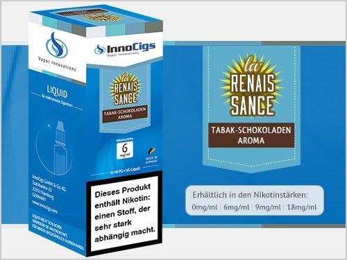 InnoCigs La Renais Sance Tabak Schokoladen eLiquid