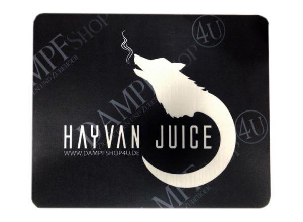 Hayvan Juice Vape Wickelmatte 25cm x 30cm Schwarz